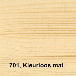 Natuurlijke Olie-Beits 701 Kleurloos mat