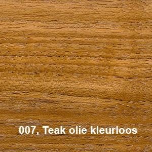 Osmo Terras Olie 007 Teak olie kleurloos