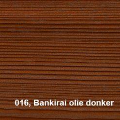 Osmo Terras Olie 016 Bankirai olie donker