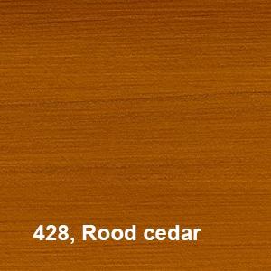 Osmo UV-Beschermingsolie 428 Rood cedar