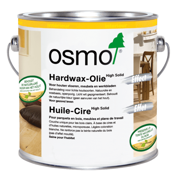 Osmo Hardwax-Olie Effect Natural 3041 Blik